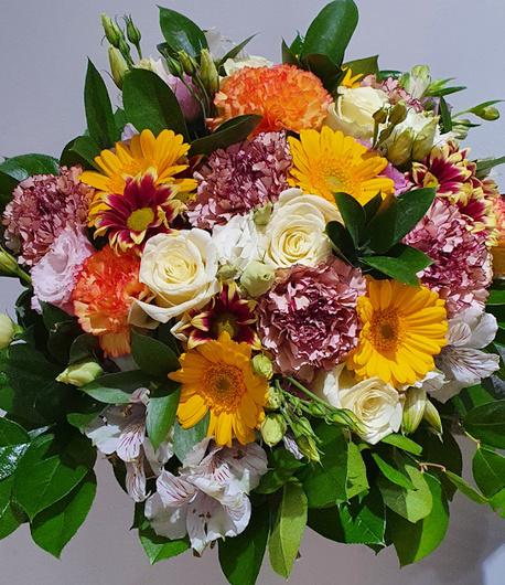 Duży bukiet wielobarwny - kwiaty mieszane (1)