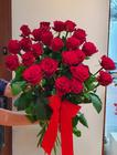 Duży bukiet z róż - 25 szt. (około 70-80 cm) (2)