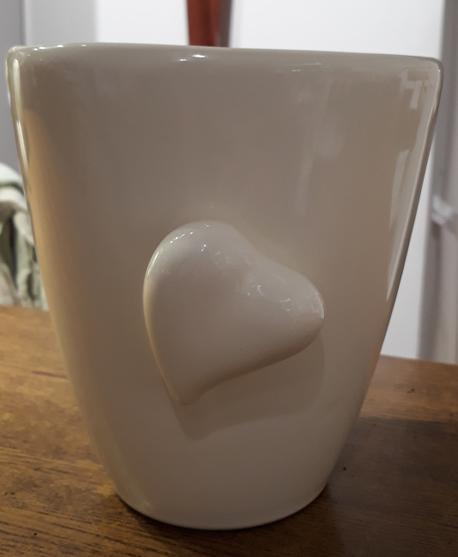 Donica / osłonka z sercem ø14cm, wys.16cm (1)