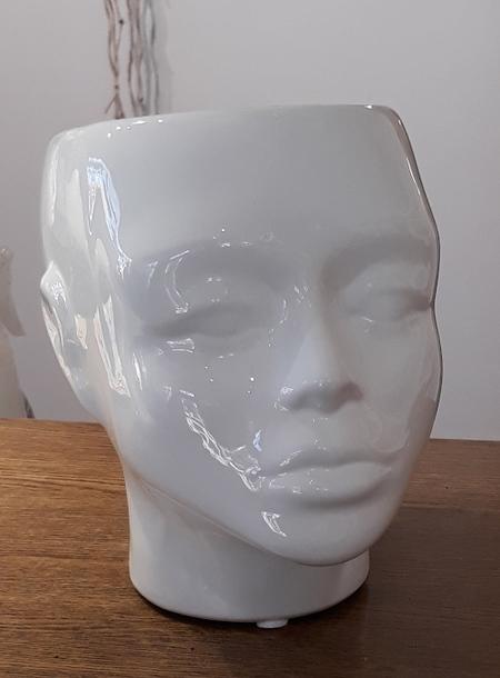Donica / osłonka ceramiczna głowa 18x21cm (1)