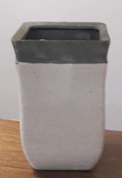 Donica / osłonka kwadratowa 13x13cm, wys.20cm (1)