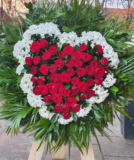 Duży wieniec serce (1)
